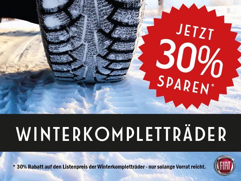 30% auf unsere Winter-Kompletträder-Auswahl!